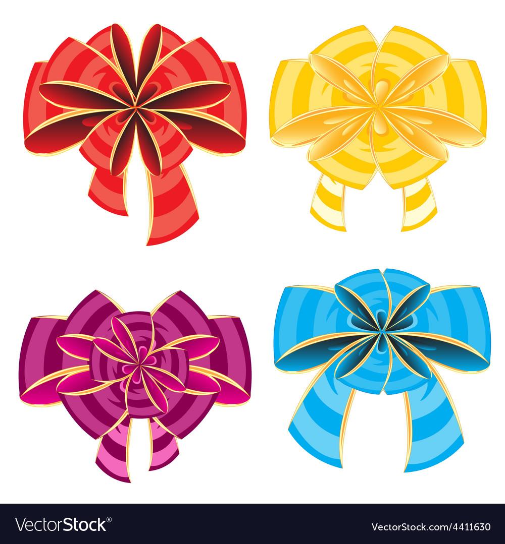 Colour bows vector   Price: 1 Credit (USD $1)