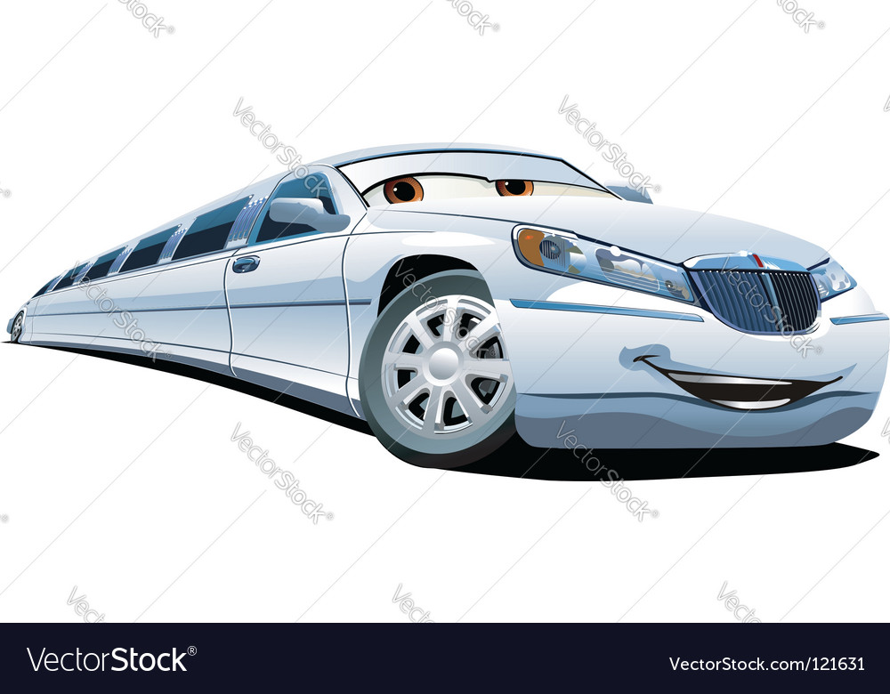 Cartoon limousine vector | Price: 1 Credit (USD $1)