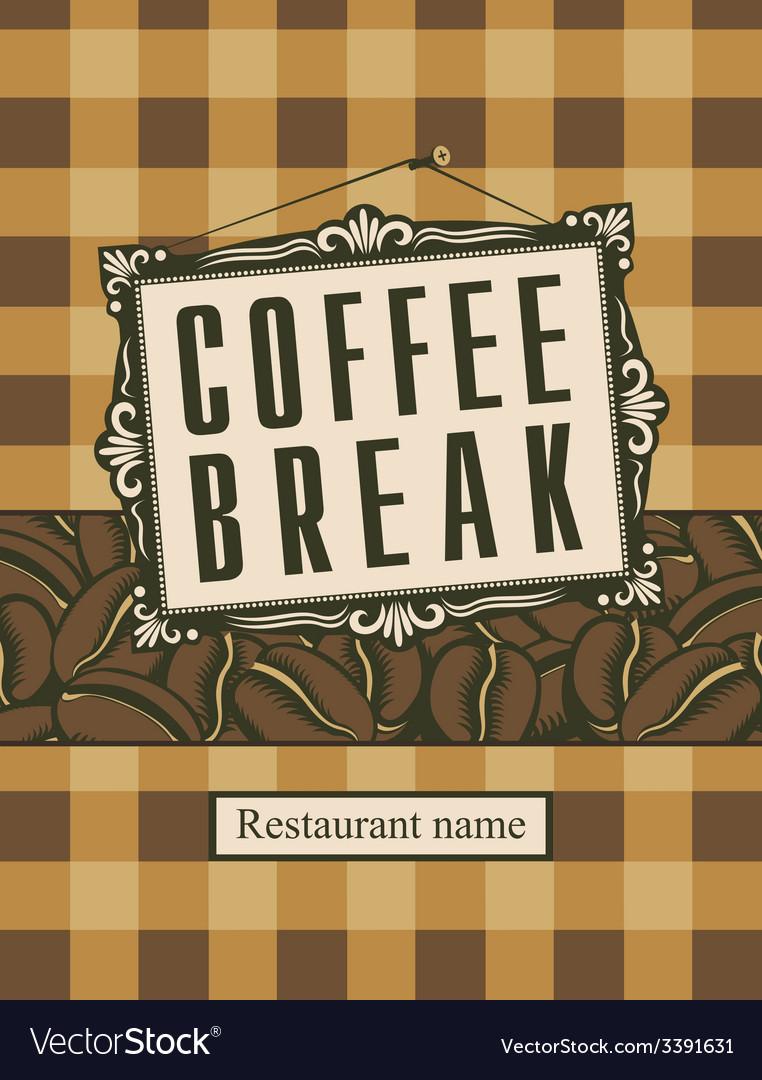 Coffee break vector   Price: 1 Credit (USD $1)