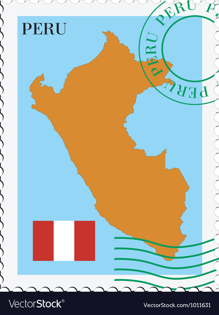 Mail to-from peru vector | Price: 1 Credit (USD $1)