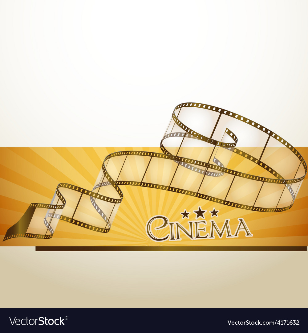 Cinema banner vector   Price: 1 Credit (USD $1)