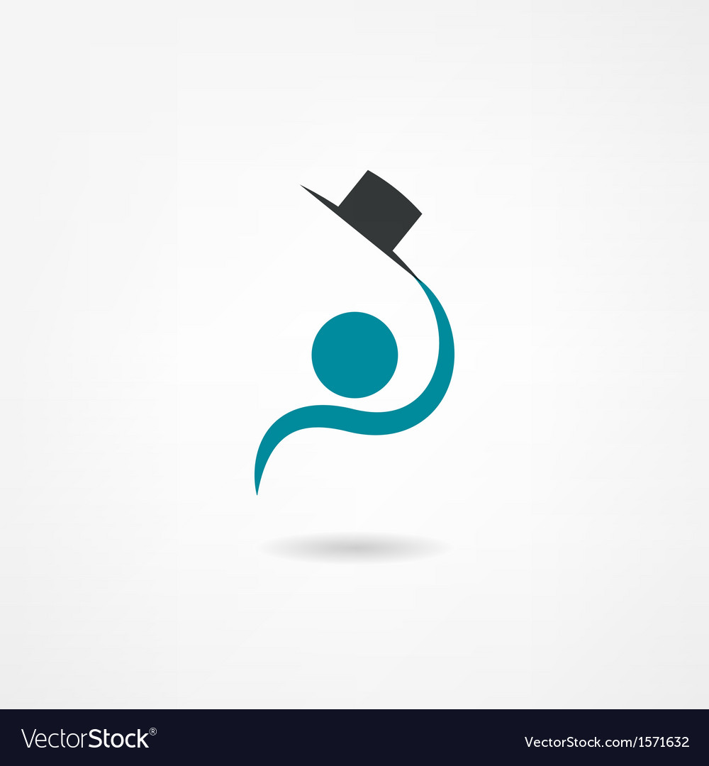 Gentleman icon vector | Price: 1 Credit (USD $1)