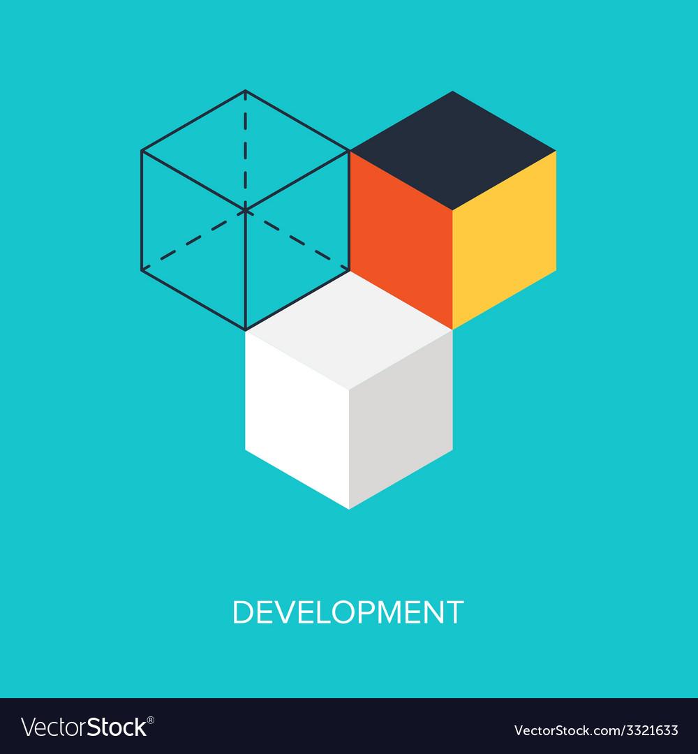 Development vector | Price: 1 Credit (USD $1)