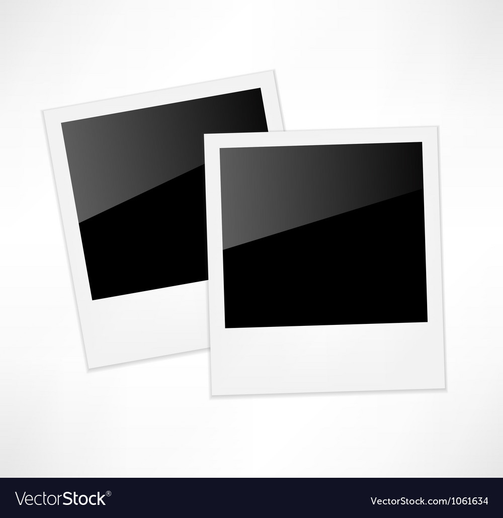 Polaroid photo frame vector | Price: 1 Credit (USD $1)