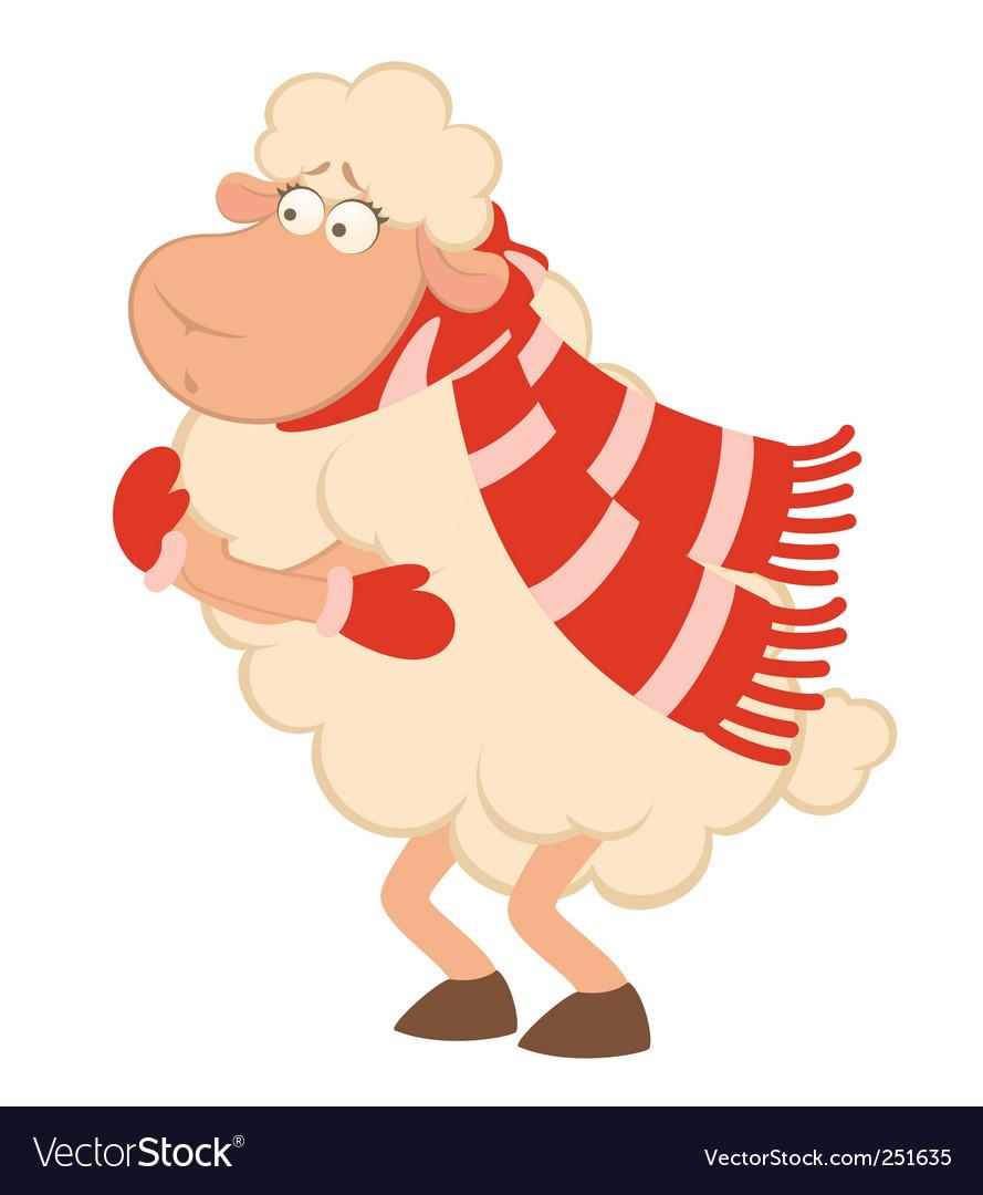 Cold lamb vector | Price: 1 Credit (USD $1)