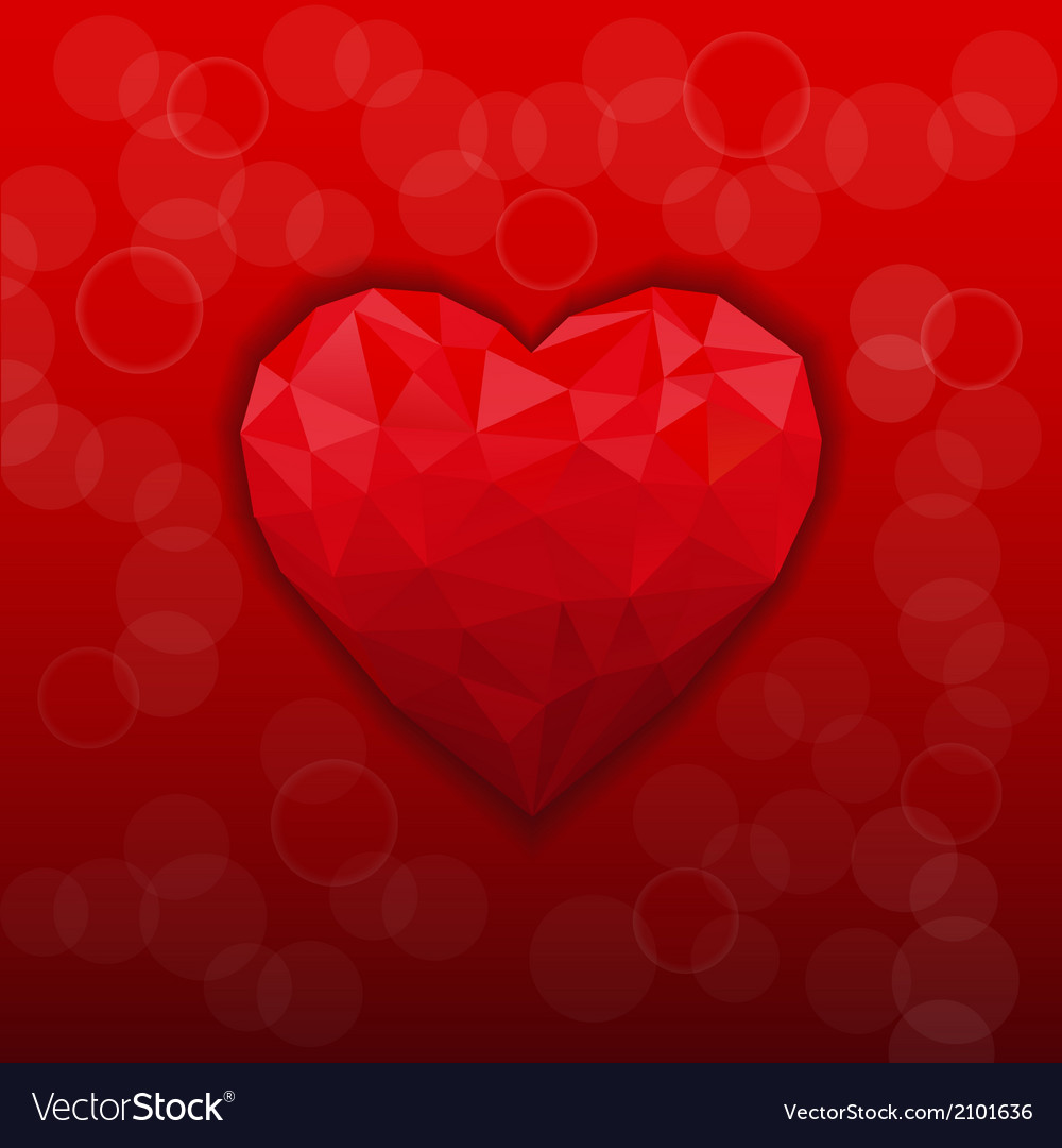 Abstract modern style love background vector | Price: 1 Credit (USD $1)