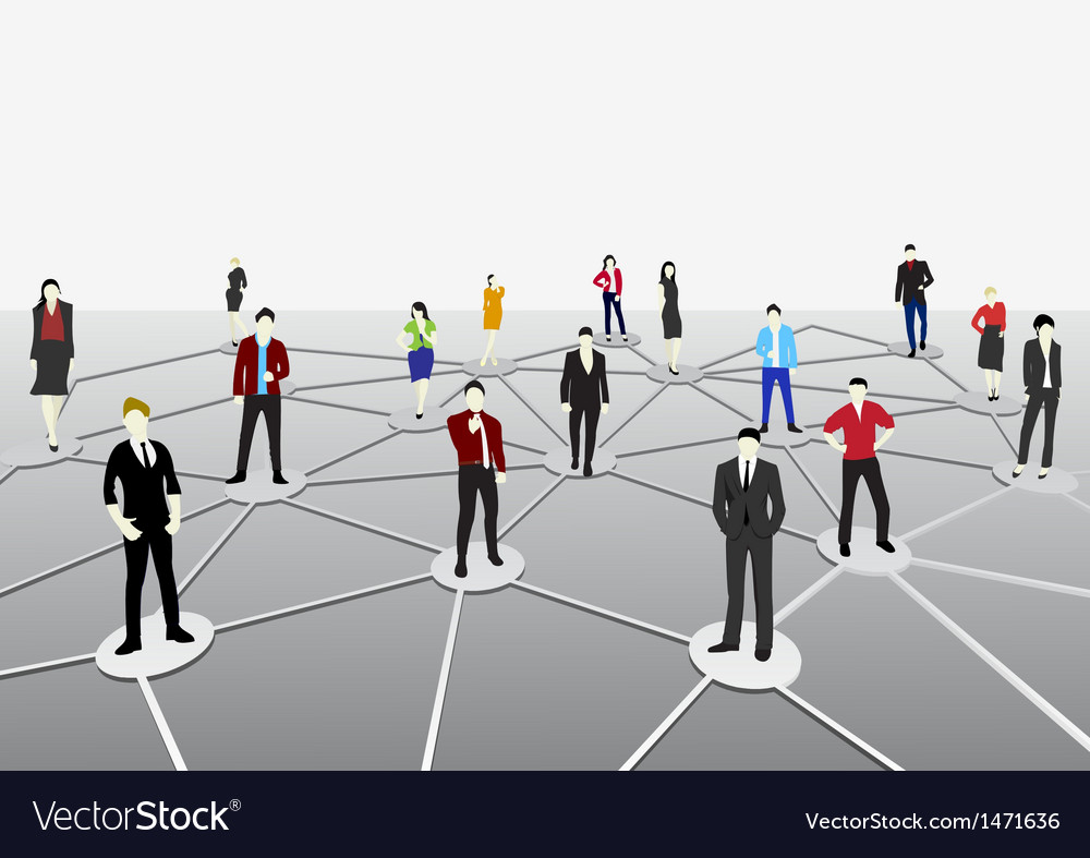 Business connection vector | Price: 1 Credit (USD $1)