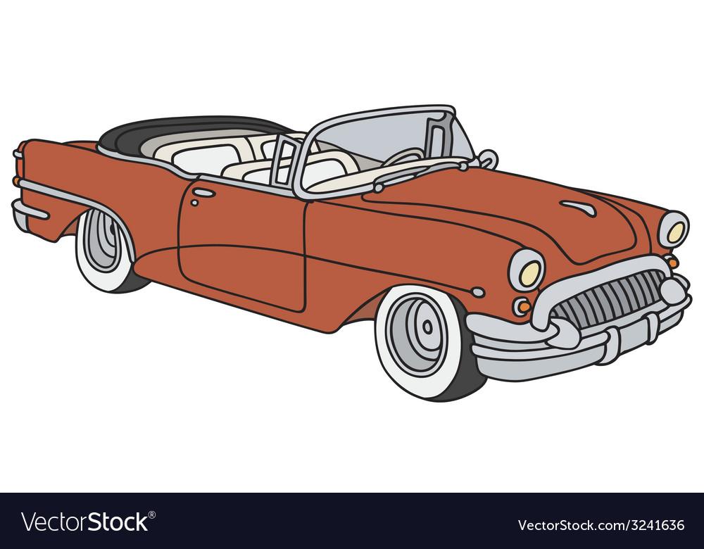 Classic cabriolet vector   Price: 1 Credit (USD $1)