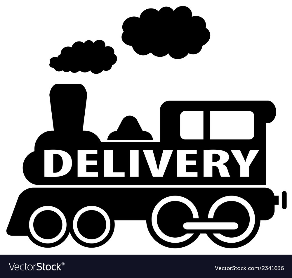 Isolated delivery train icon vector | Price: 1 Credit (USD $1)