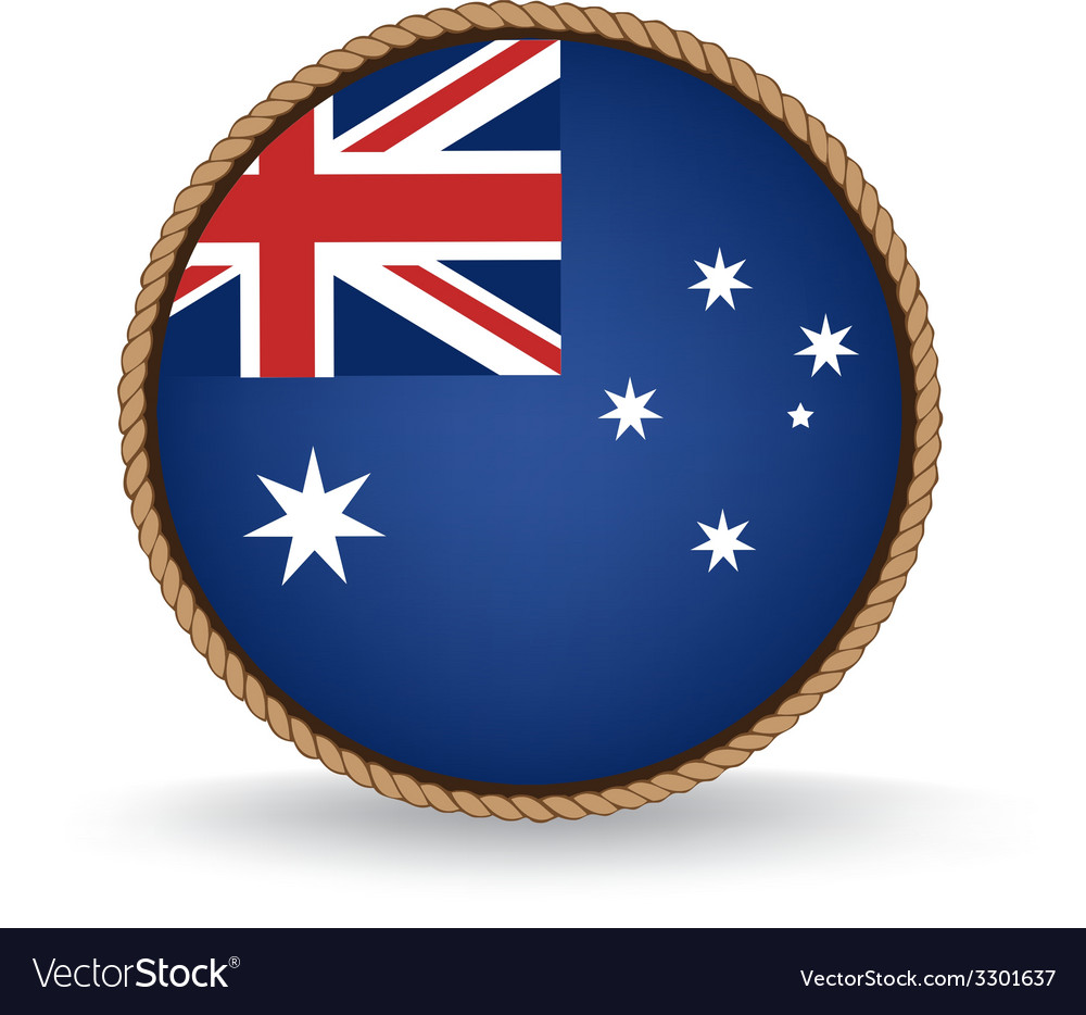 Australia seal vector | Price: 1 Credit (USD $1)