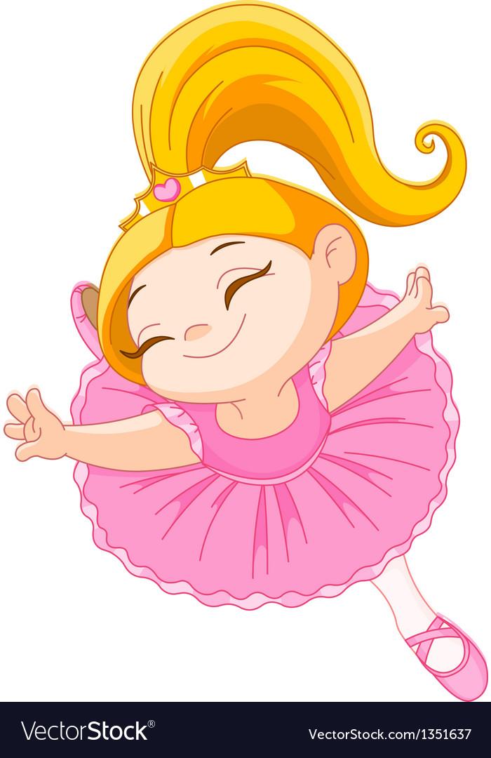 Little ballerina vector | Price: 3 Credit (USD $3)