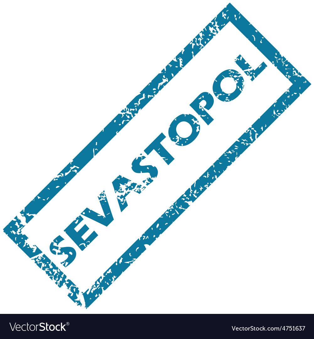 Sevastopol rubber stamp vector | Price: 1 Credit (USD $1)