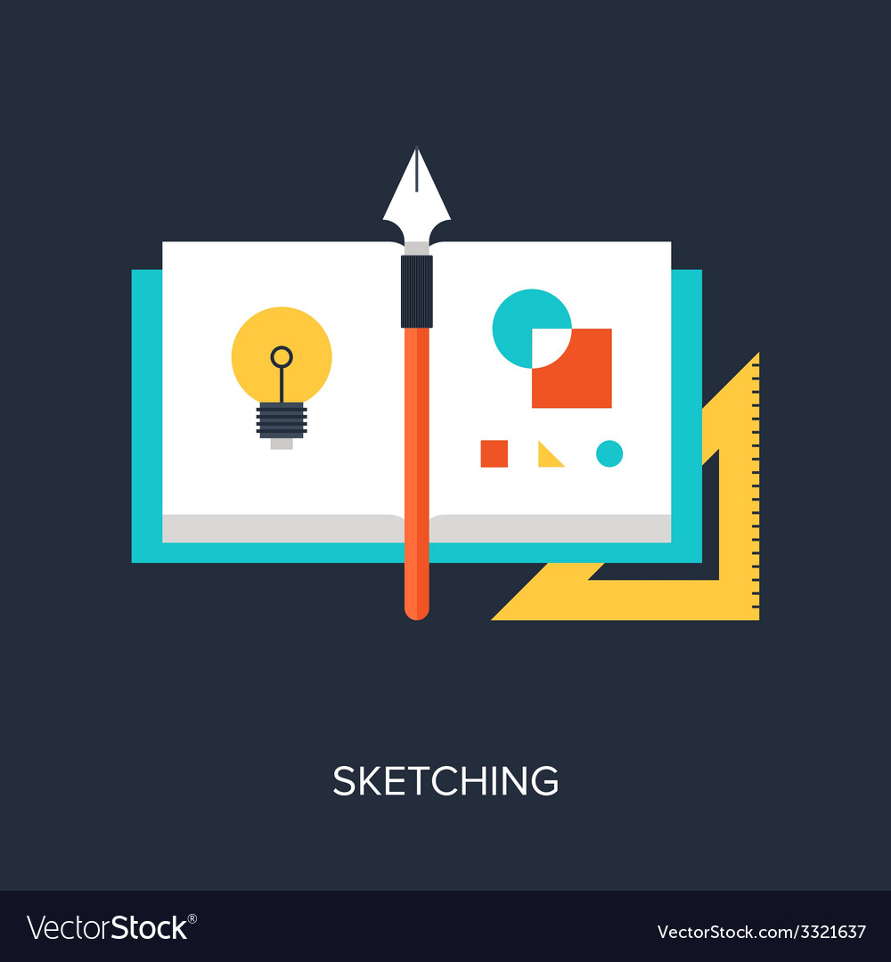 Sketching vector | Price: 1 Credit (USD $1)