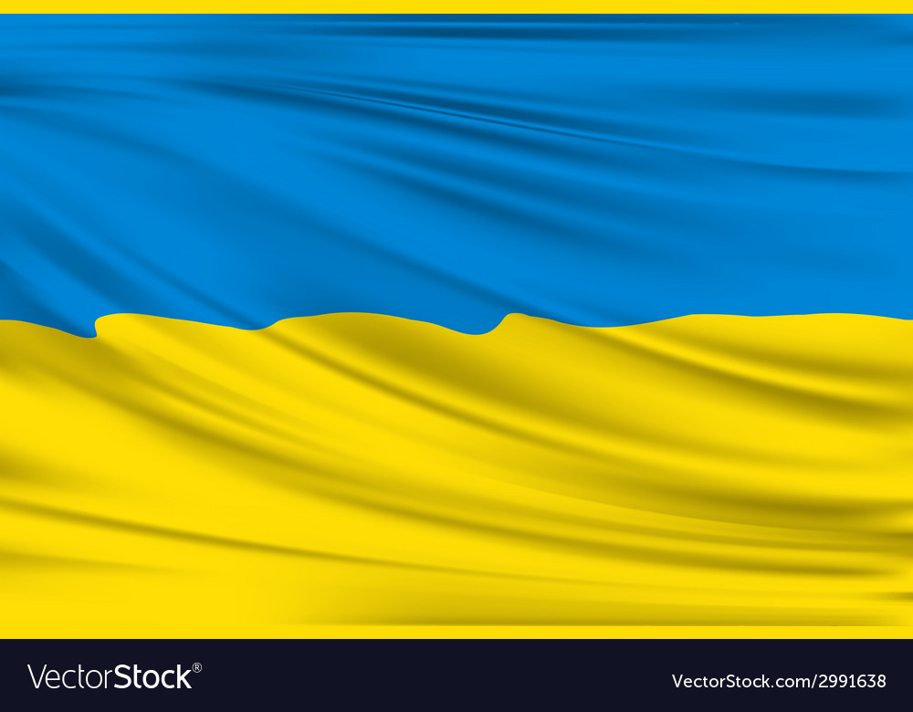 Flag of ukraine vector | Price: 1 Credit (USD $1)