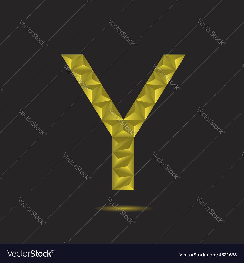 Letter y vector | Price: 1 Credit (USD $1)