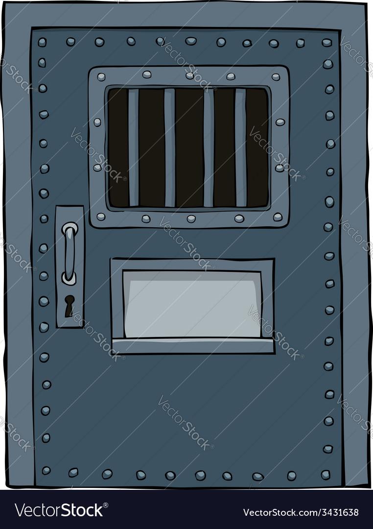 Prison door vector | Price: 1 Credit (USD $1)