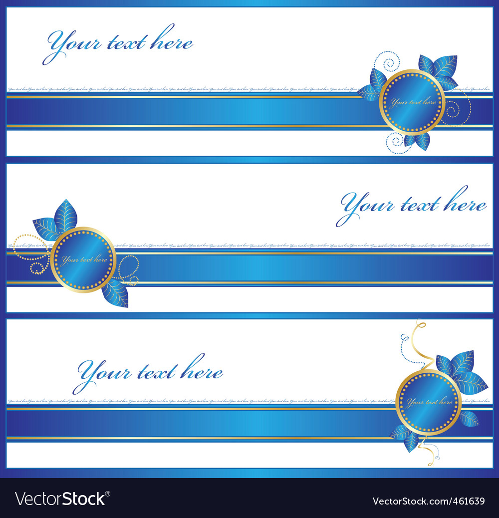 Gift wrap banners vector | Price: 1 Credit (USD $1)
