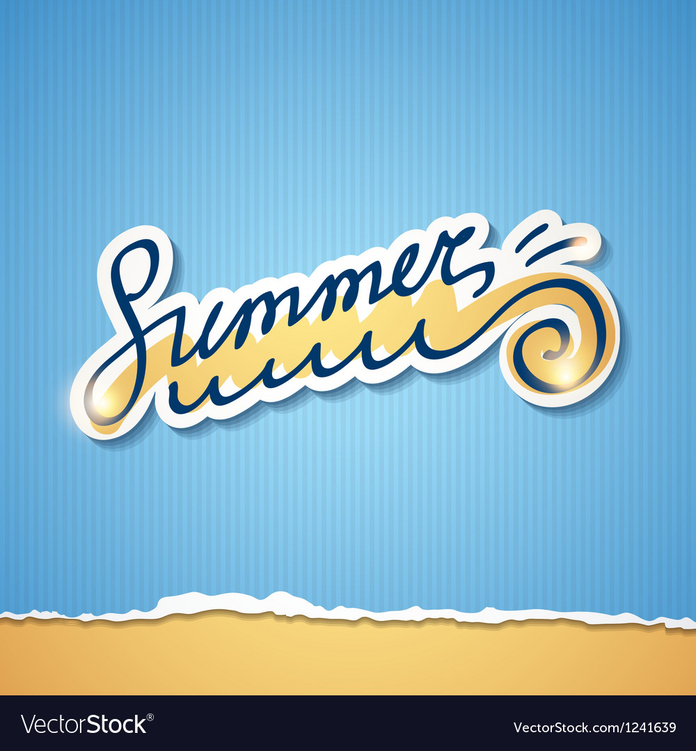 Summer  eps 10 vector | Price: 1 Credit (USD $1)