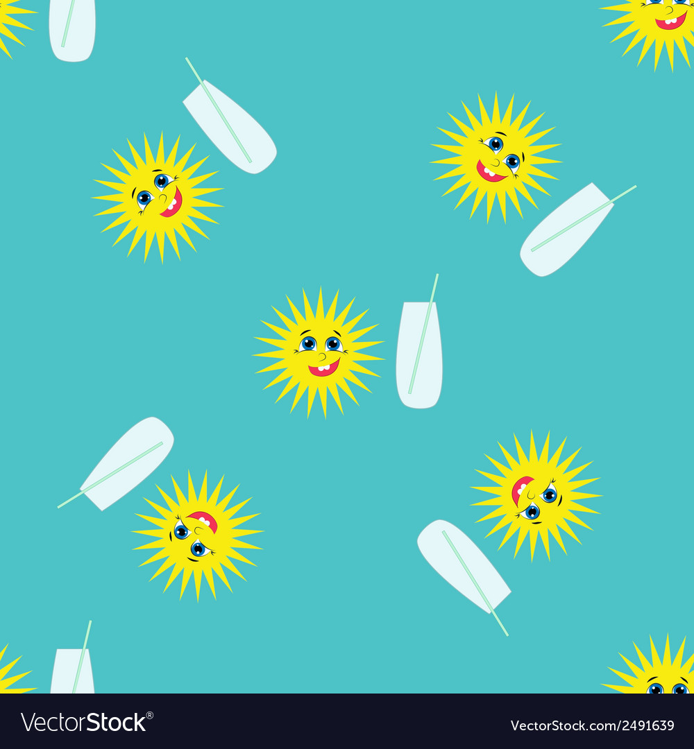 Summer pattern1 vector | Price: 1 Credit (USD $1)