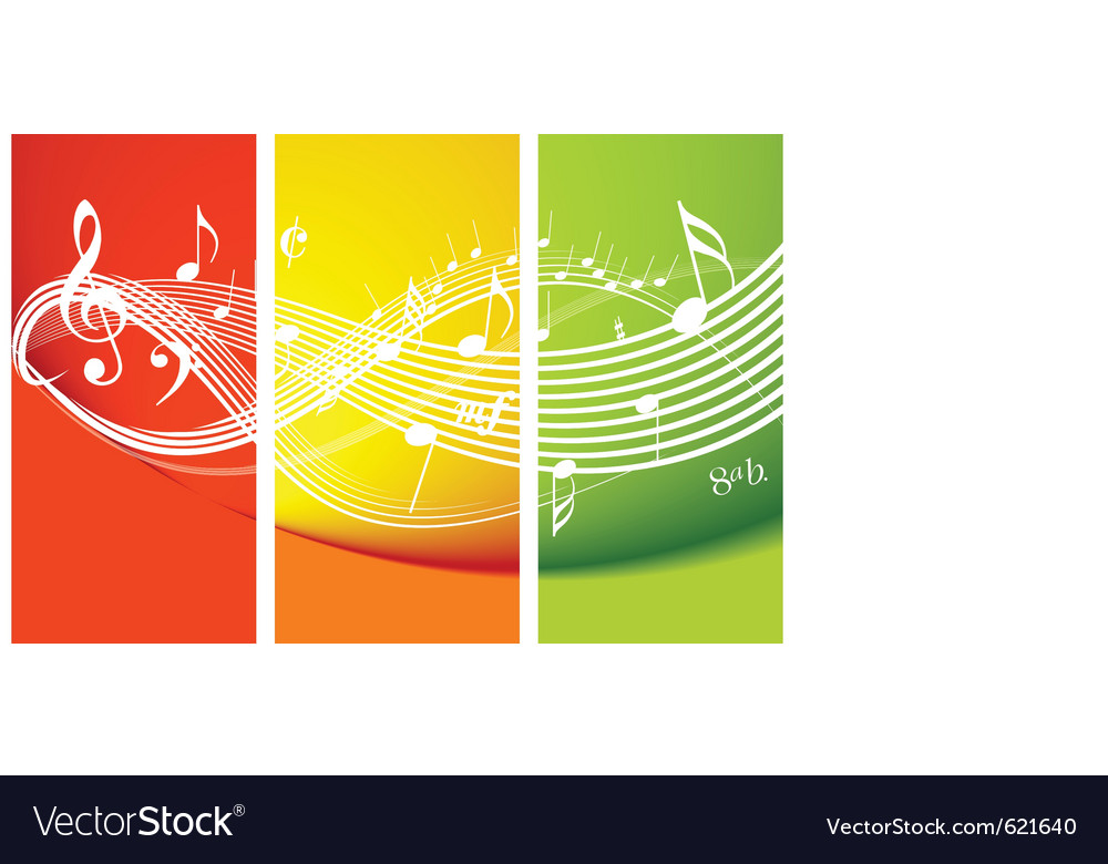 Fresh music theme vector | Price: 1 Credit (USD $1)
