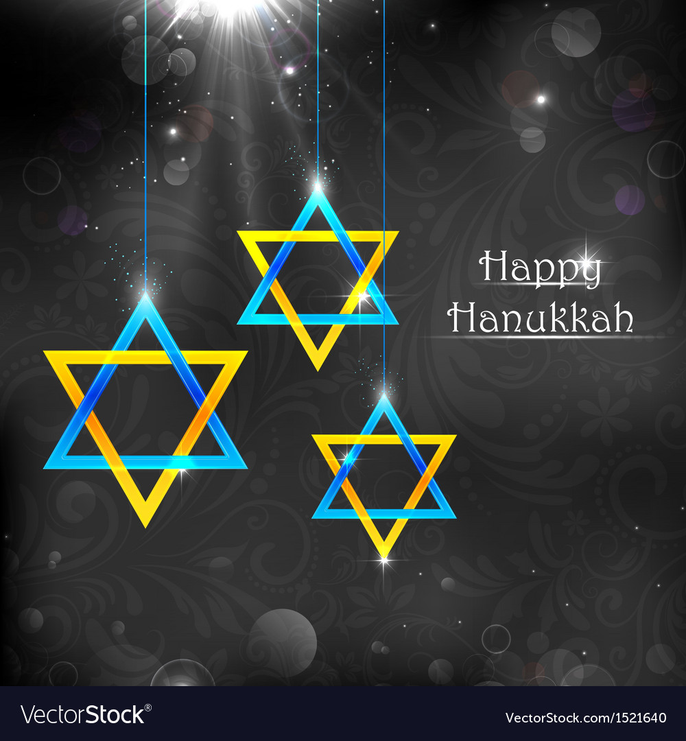 Happy hanukkah vector | Price: 1 Credit (USD $1)