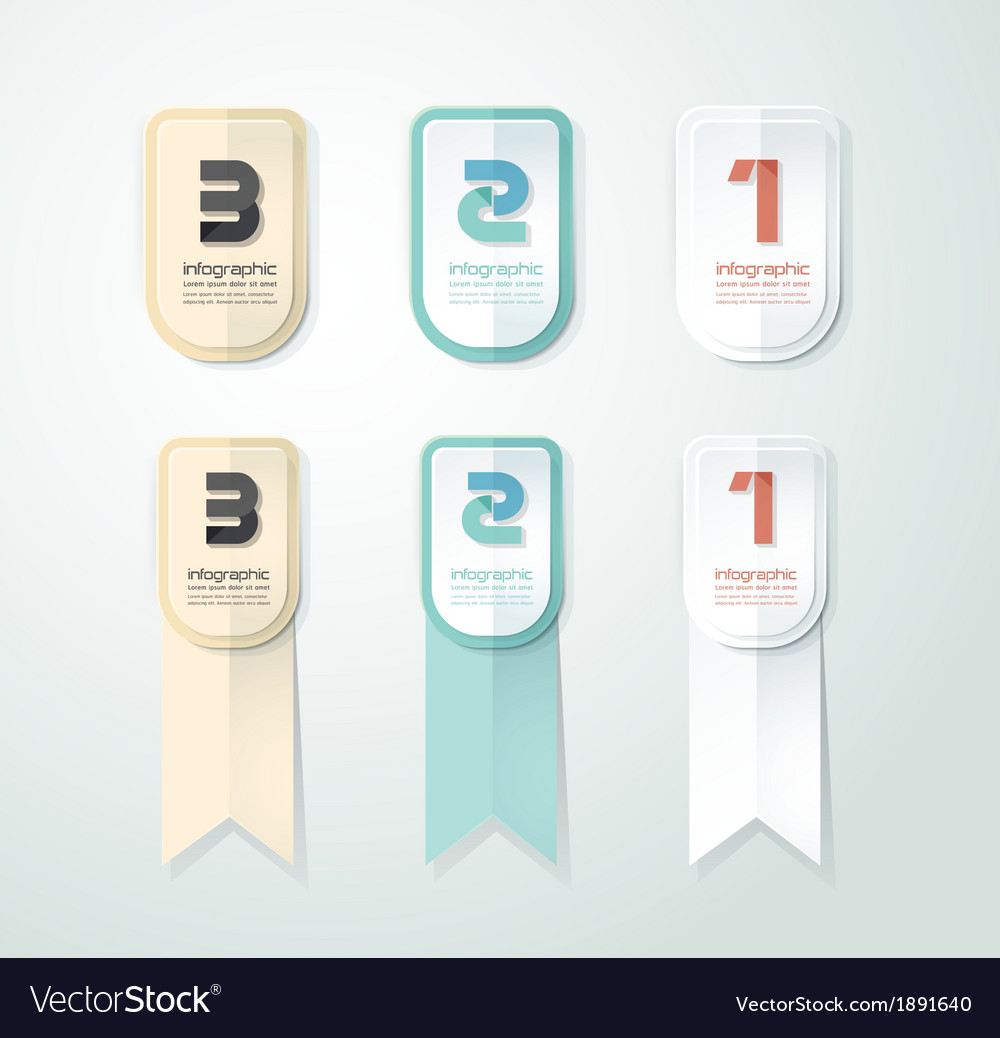 Modern design button can be used for infographic vector | Price: 1 Credit (USD $1)