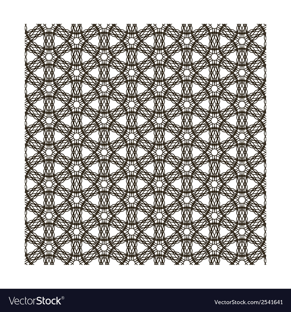 Abstract vintage geometric wallpaper pattern vector | Price: 1 Credit (USD $1)