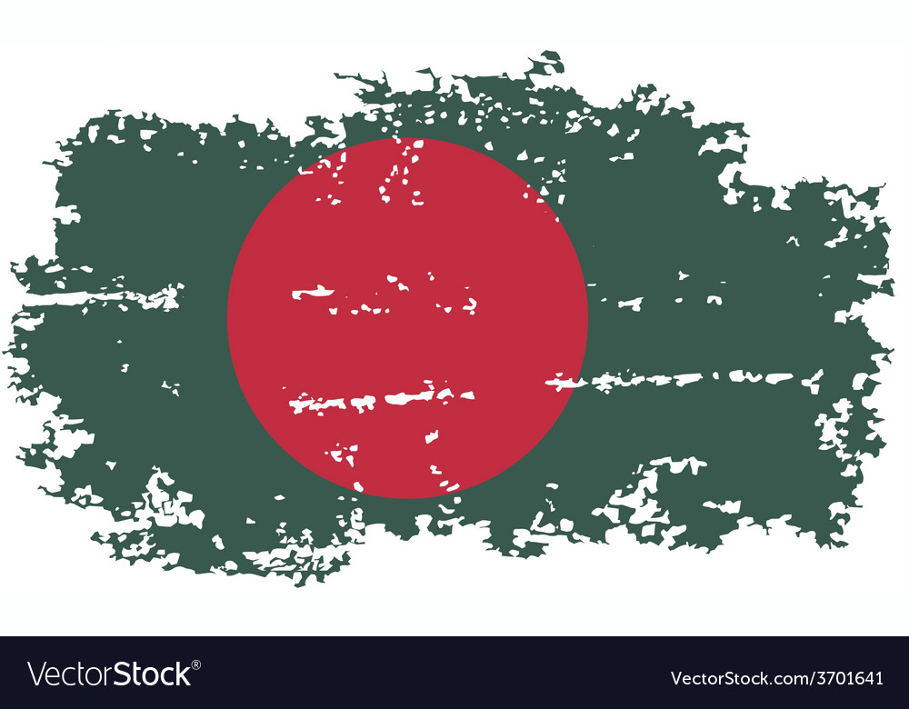 Bangladesh grunge flag vector | Price: 1 Credit (USD $1)