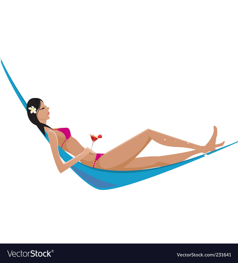 Hammock vector | Price: 3 Credit (USD $3)