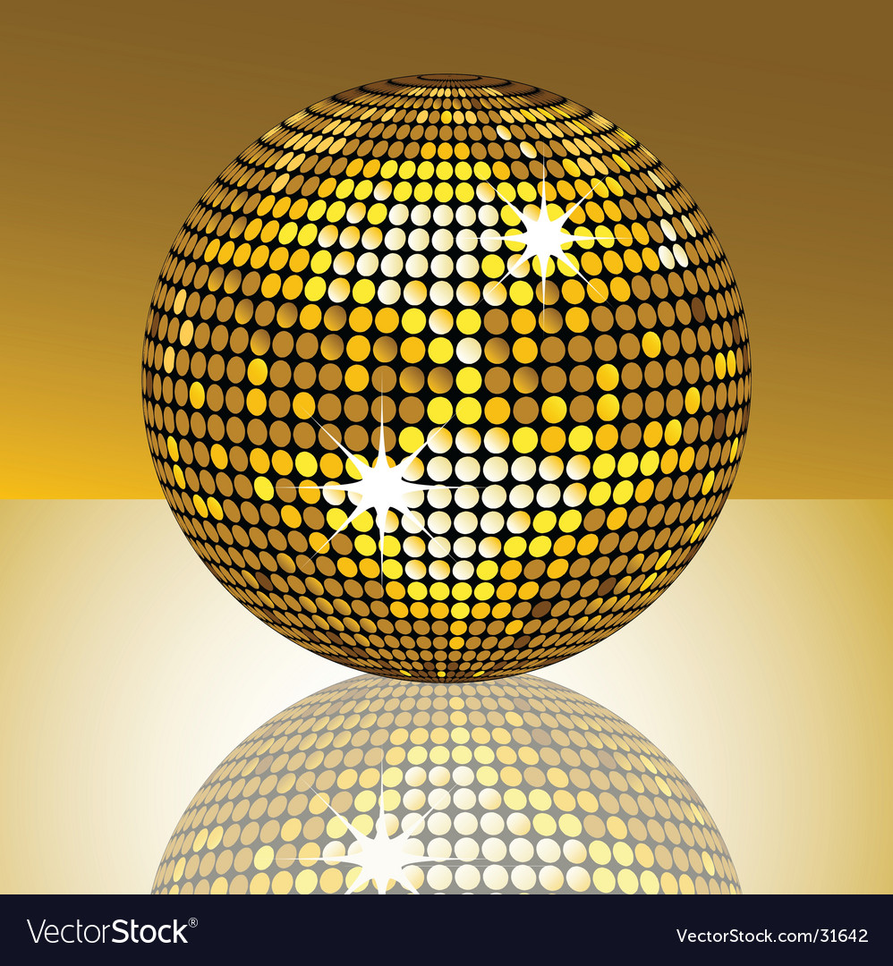Mirror ball vector | Price: 1 Credit (USD $1)