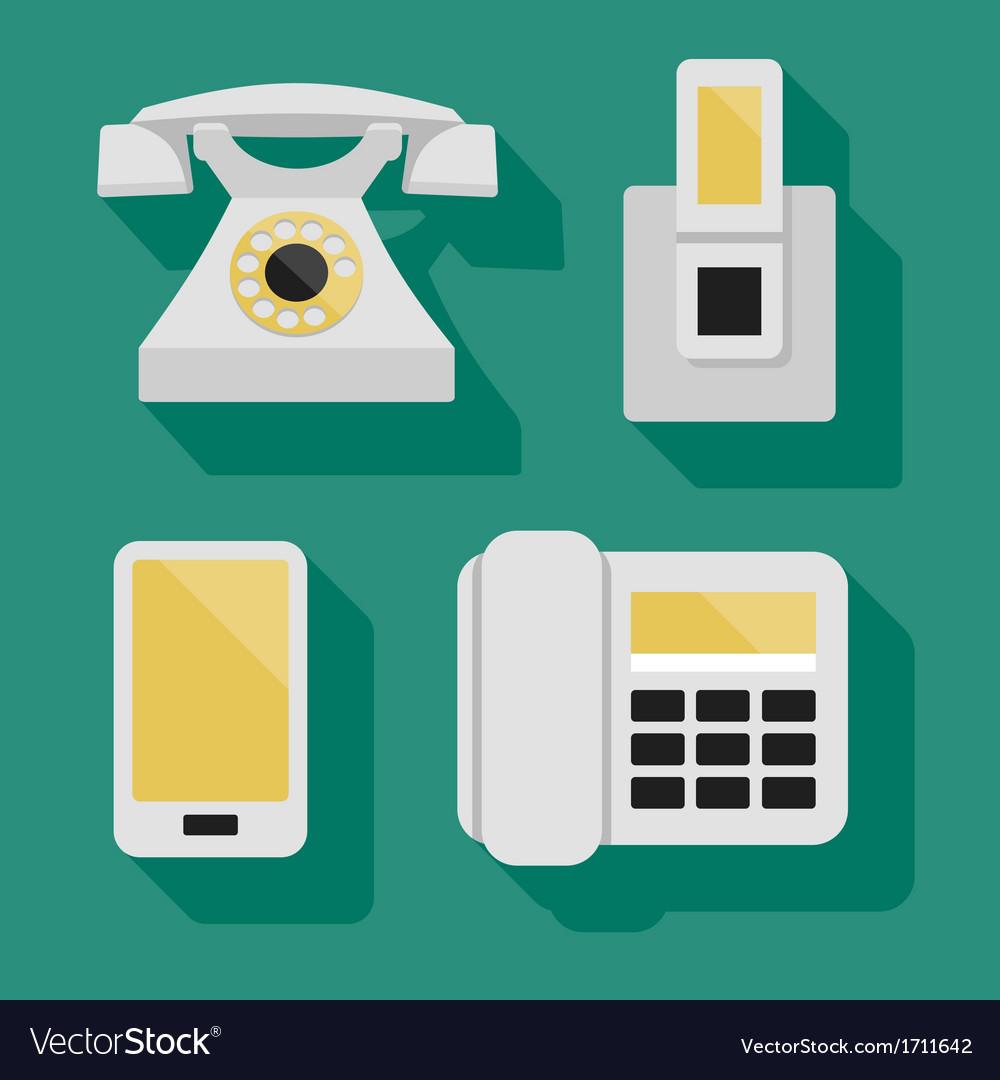 Phones vector   Price: 1 Credit (USD $1)