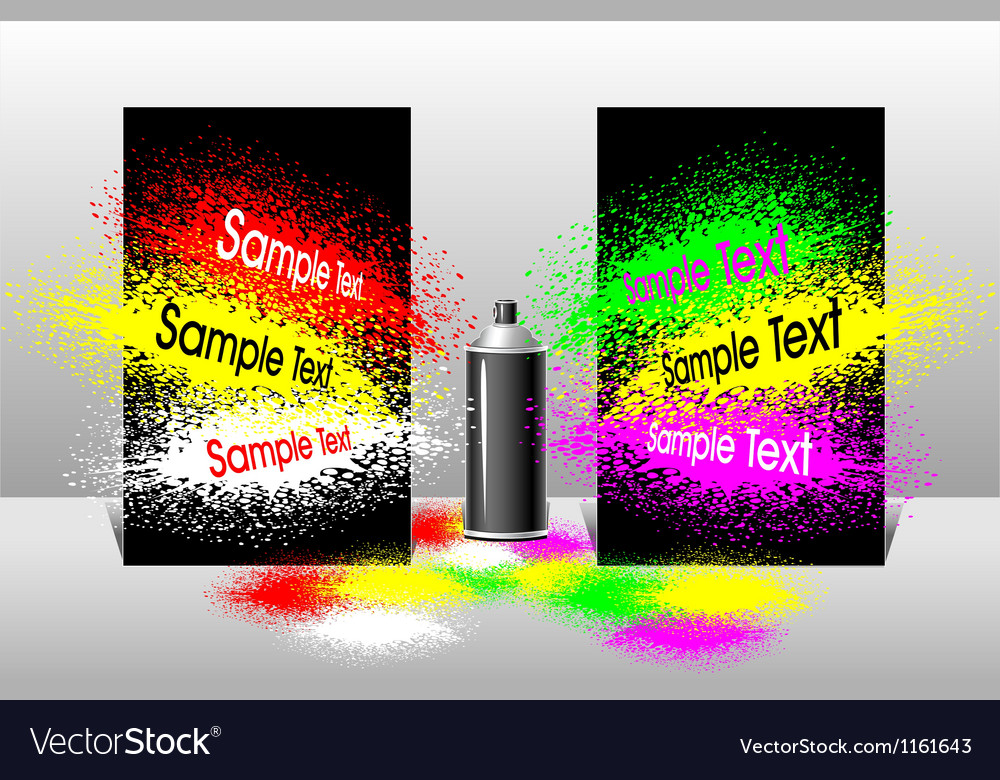 Effect spray paint vector | Price: 1 Credit (USD $1)