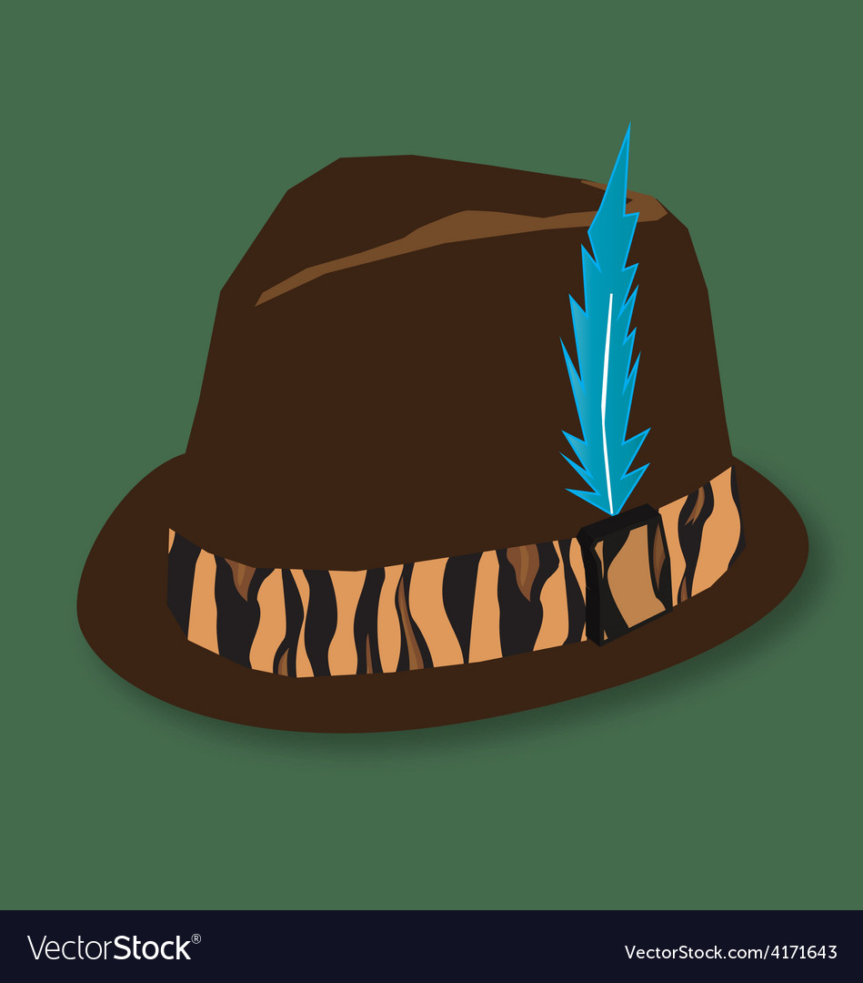Hunting hat vector   Price: 1 Credit (USD $1)