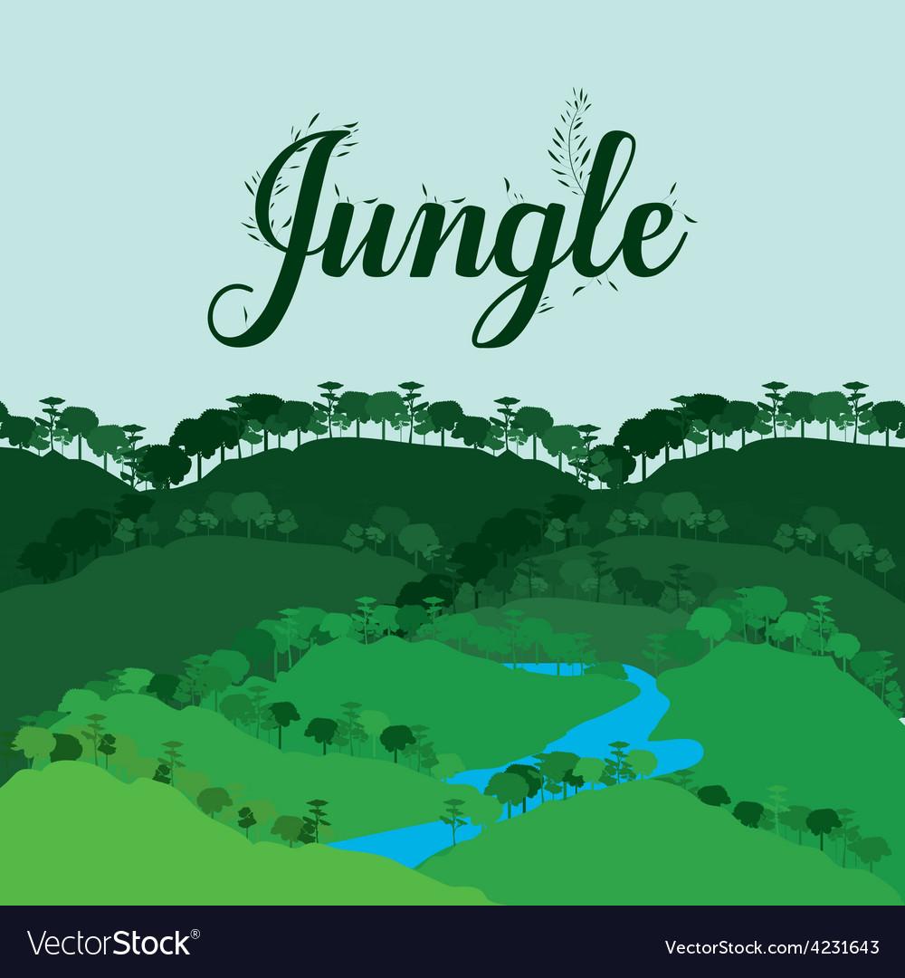 Jungle design vector   Price: 1 Credit (USD $1)
