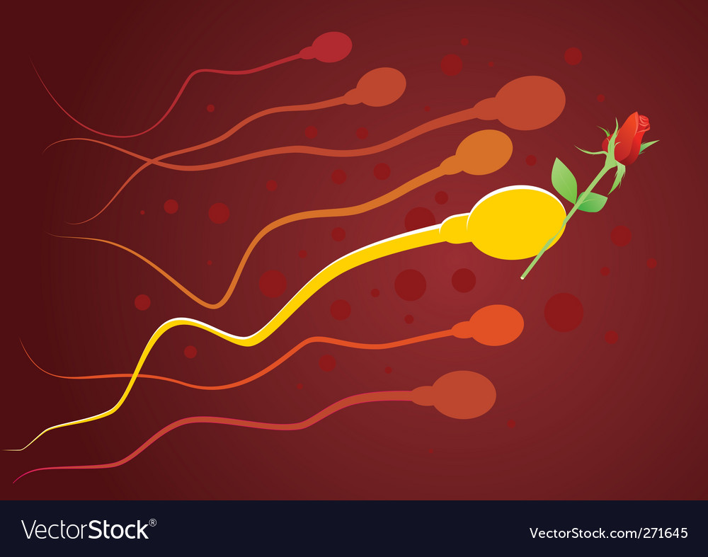 Gentleman sperm vector | Price: 1 Credit (USD $1)