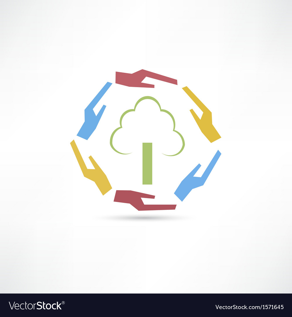 Green tree icon vector   Price: 1 Credit (USD $1)