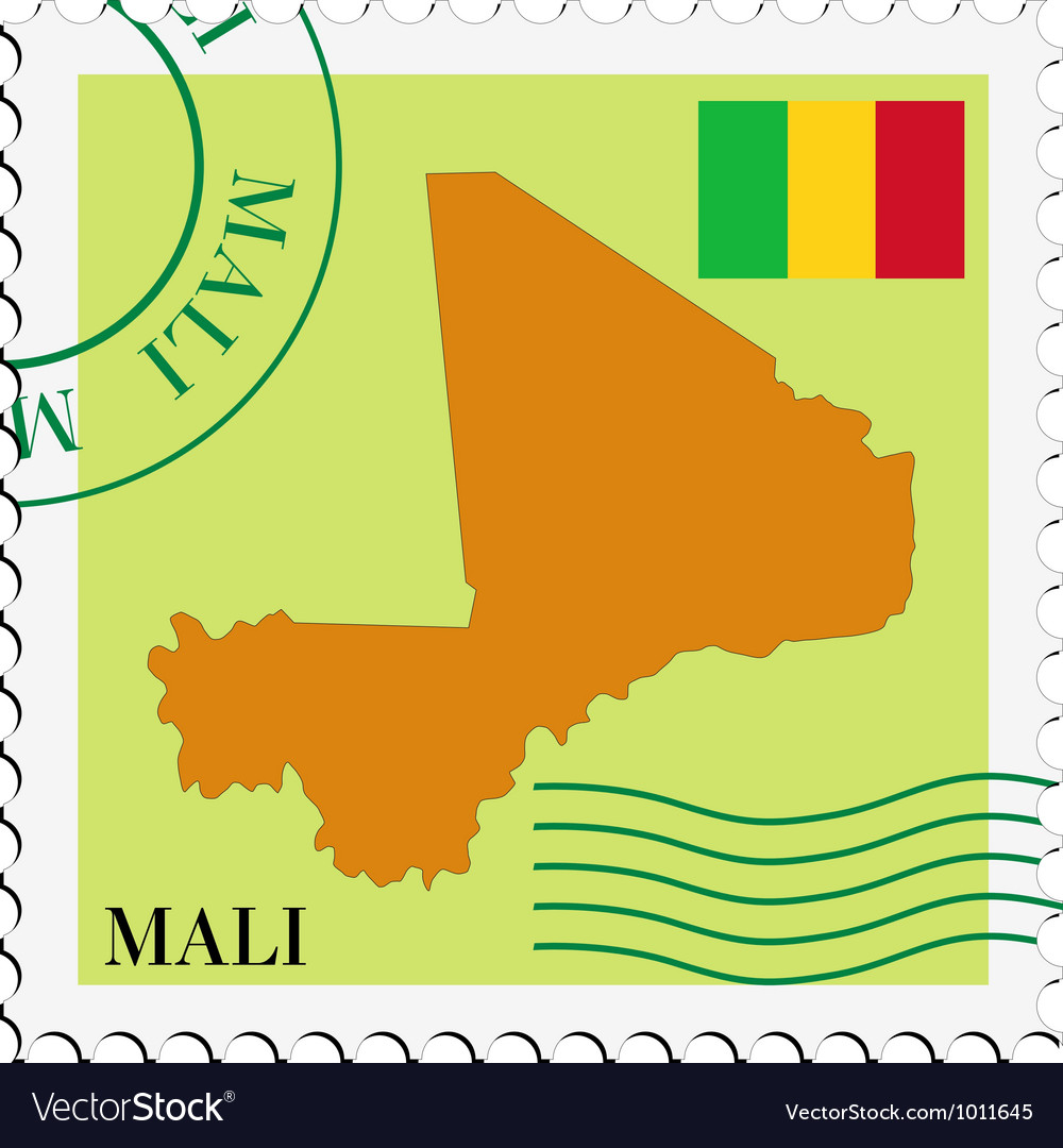 Mail to-from mali vector | Price: 1 Credit (USD $1)