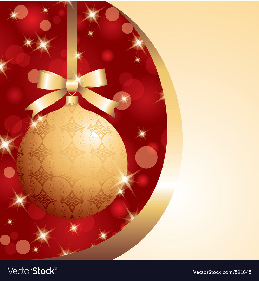 Xmas ball vector | Price: 1 Credit (USD $1)