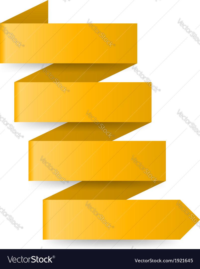 Yellow paper arrow vector   Price: 1 Credit (USD $1)