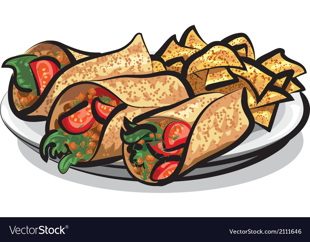 Fajitas vector | Price: 3 Credit (USD $3)
