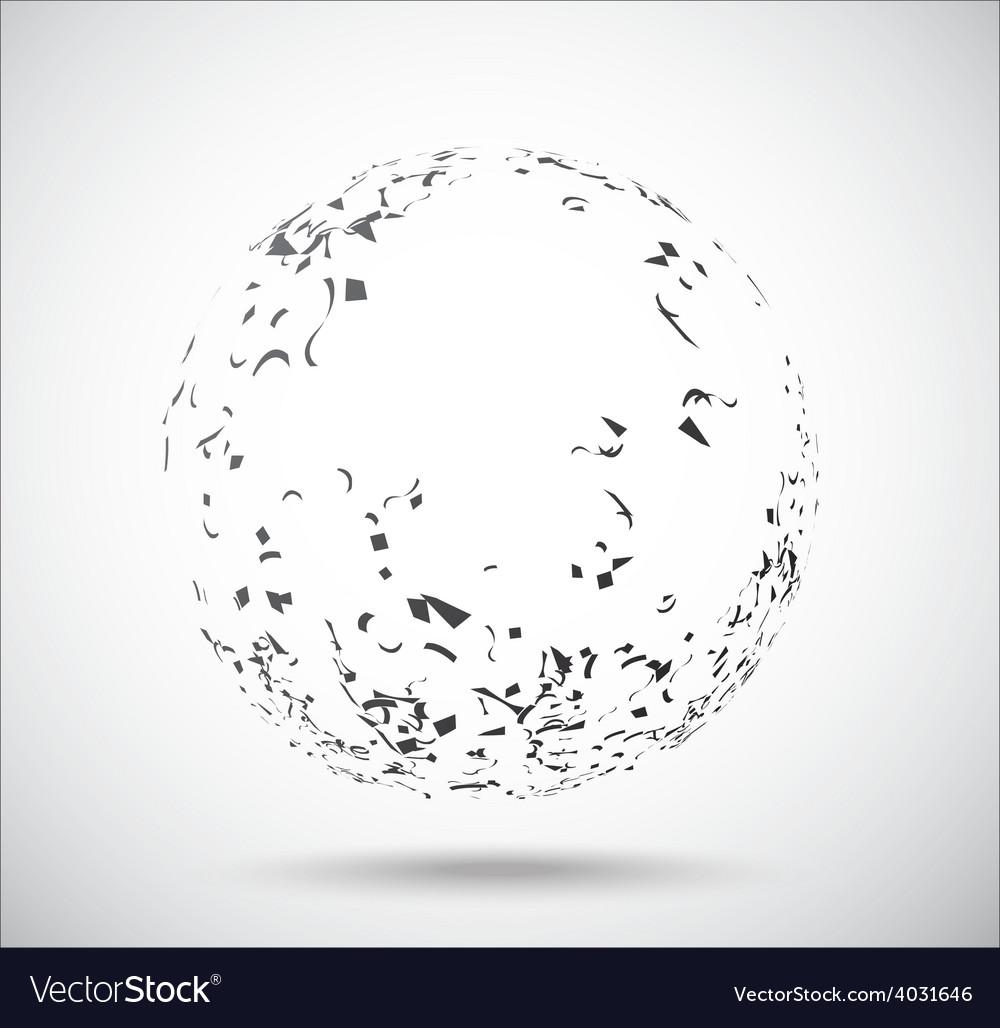 Geometric glode vector | Price: 1 Credit (USD $1)