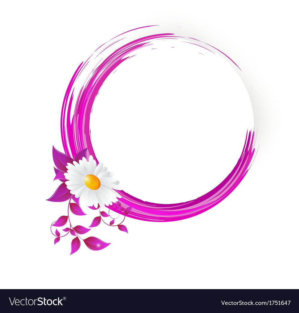 Abstract banner with curls of pink color vector | Price: 1 Credit (USD $1)