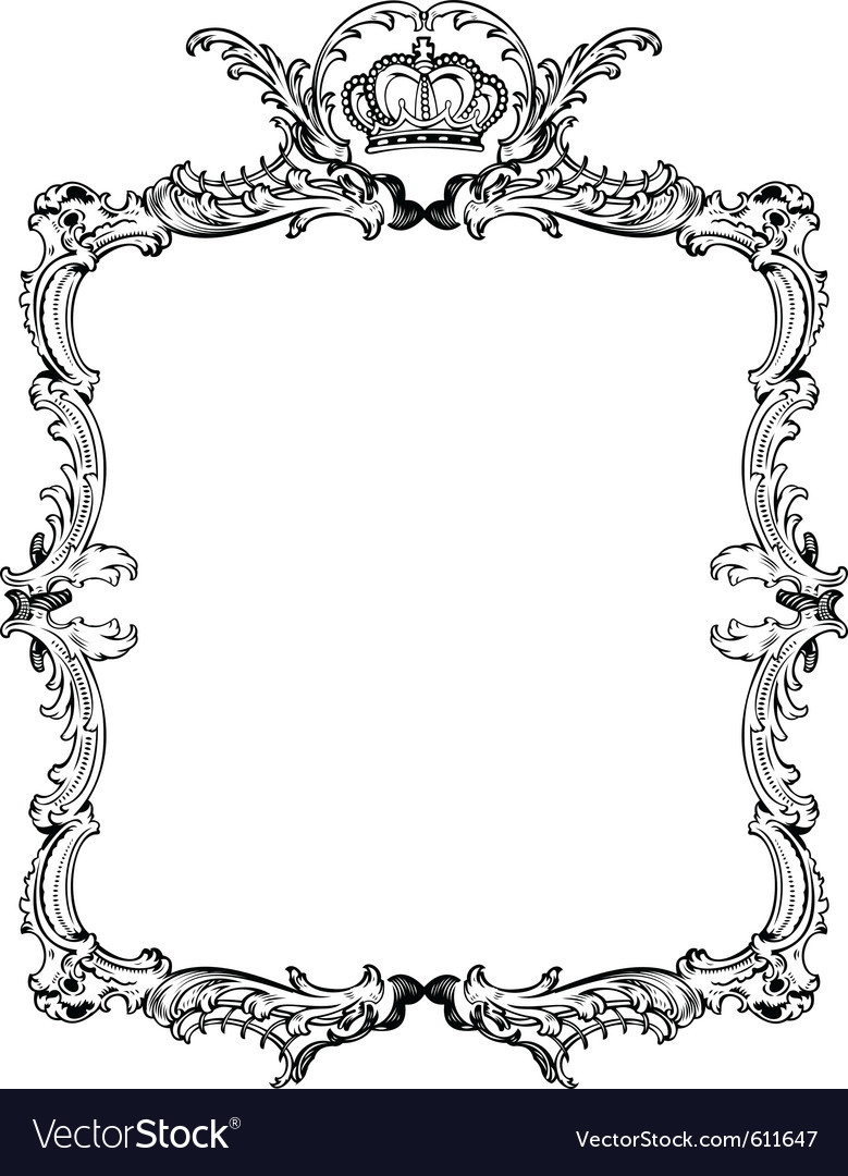 Decorative vintage vector | Price: 1 Credit (USD $1)