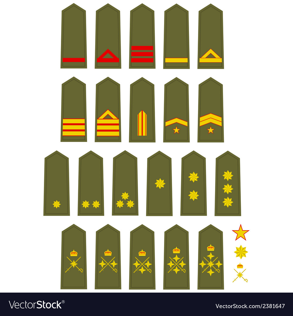 Insignia of the spanish army vector | Price: 1 Credit (USD $1)