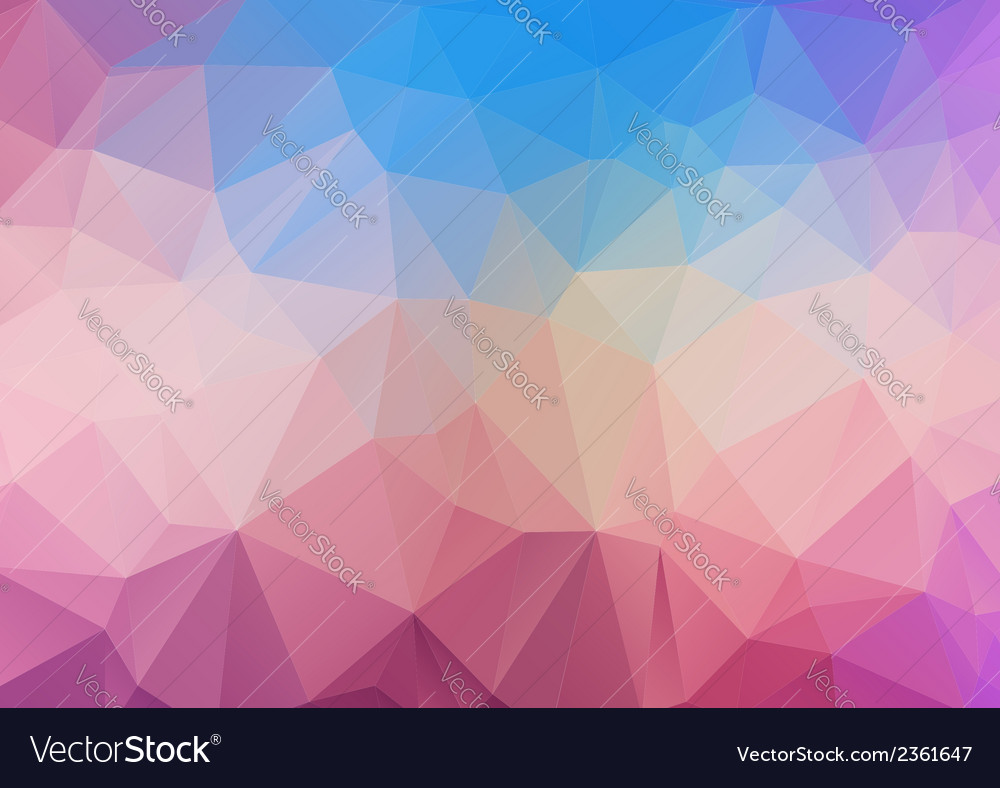 Polygonal background vector | Price: 1 Credit (USD $1)