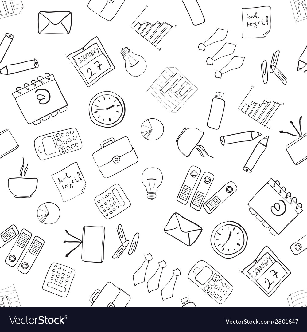 Seamless business pattern vector   Price: 1 Credit (USD $1)
