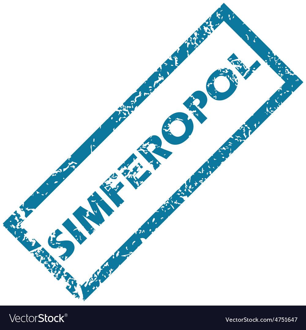 Simferopol rubber stamp vector | Price: 1 Credit (USD $1)