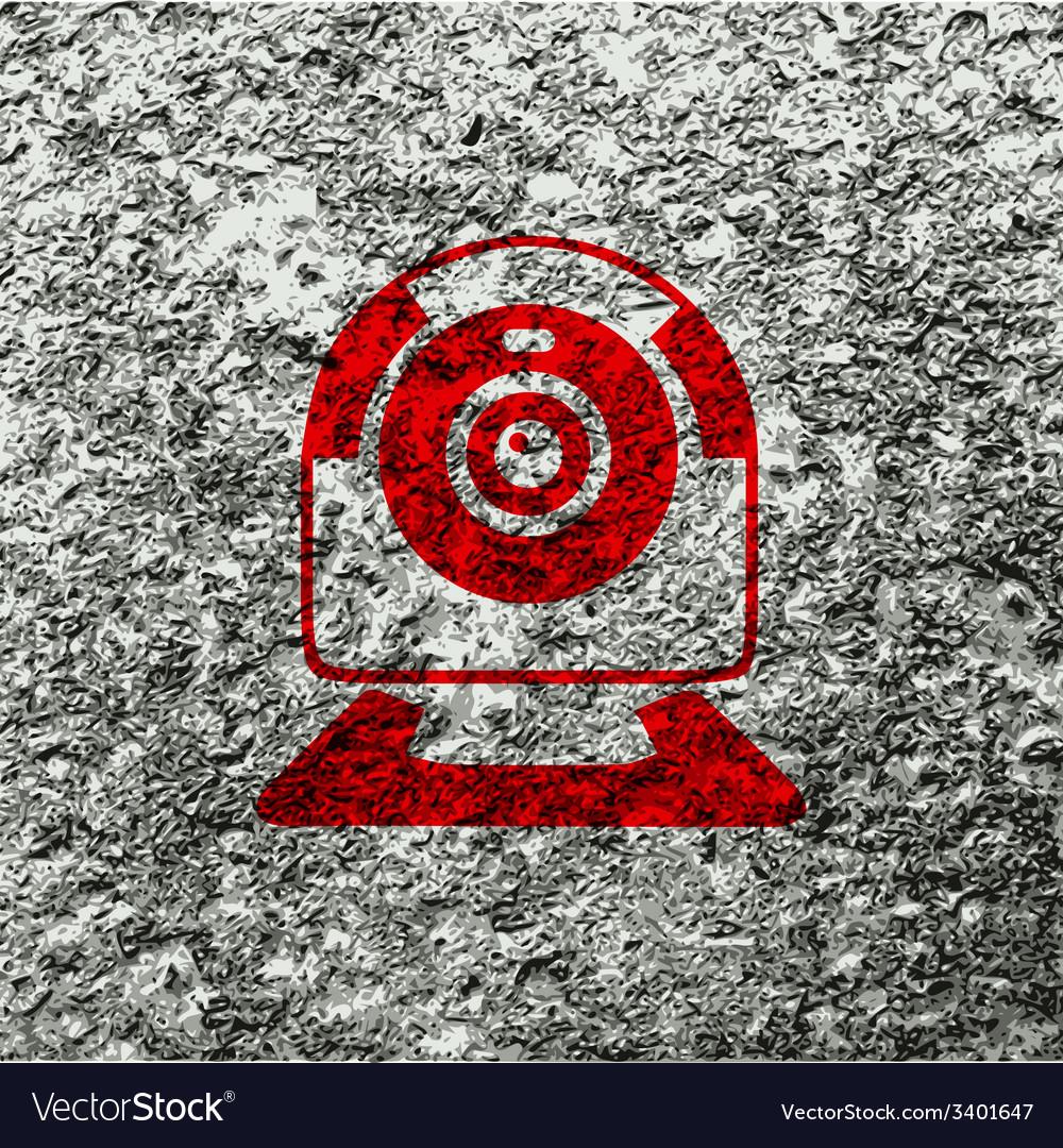 Webcam icon symbol flat modern web design with vector   Price: 1 Credit (USD $1)