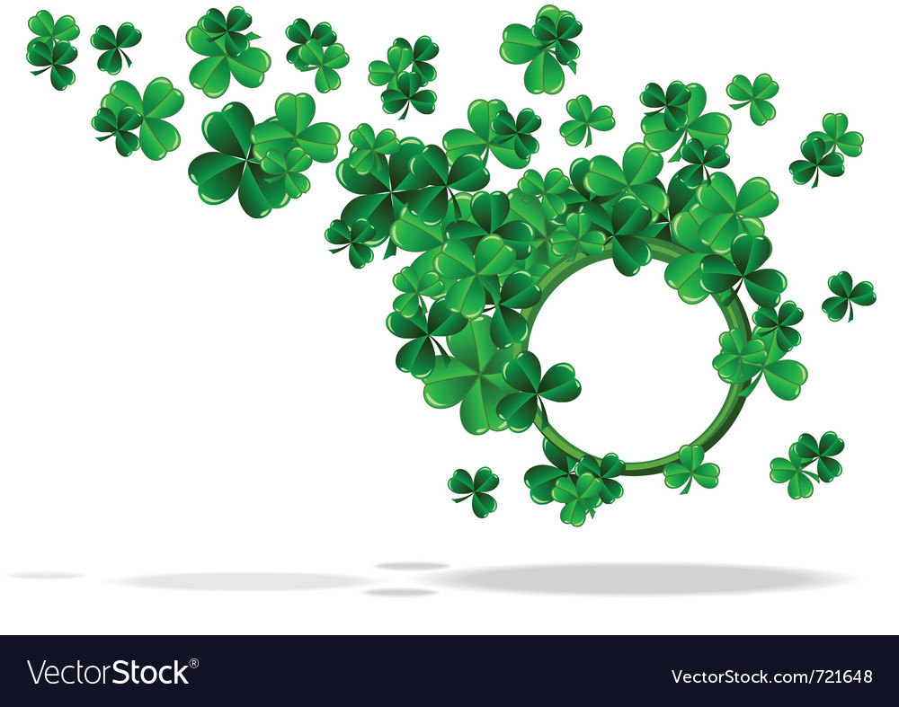 Abstract background of st patrick day vector | Price: 1 Credit (USD $1)