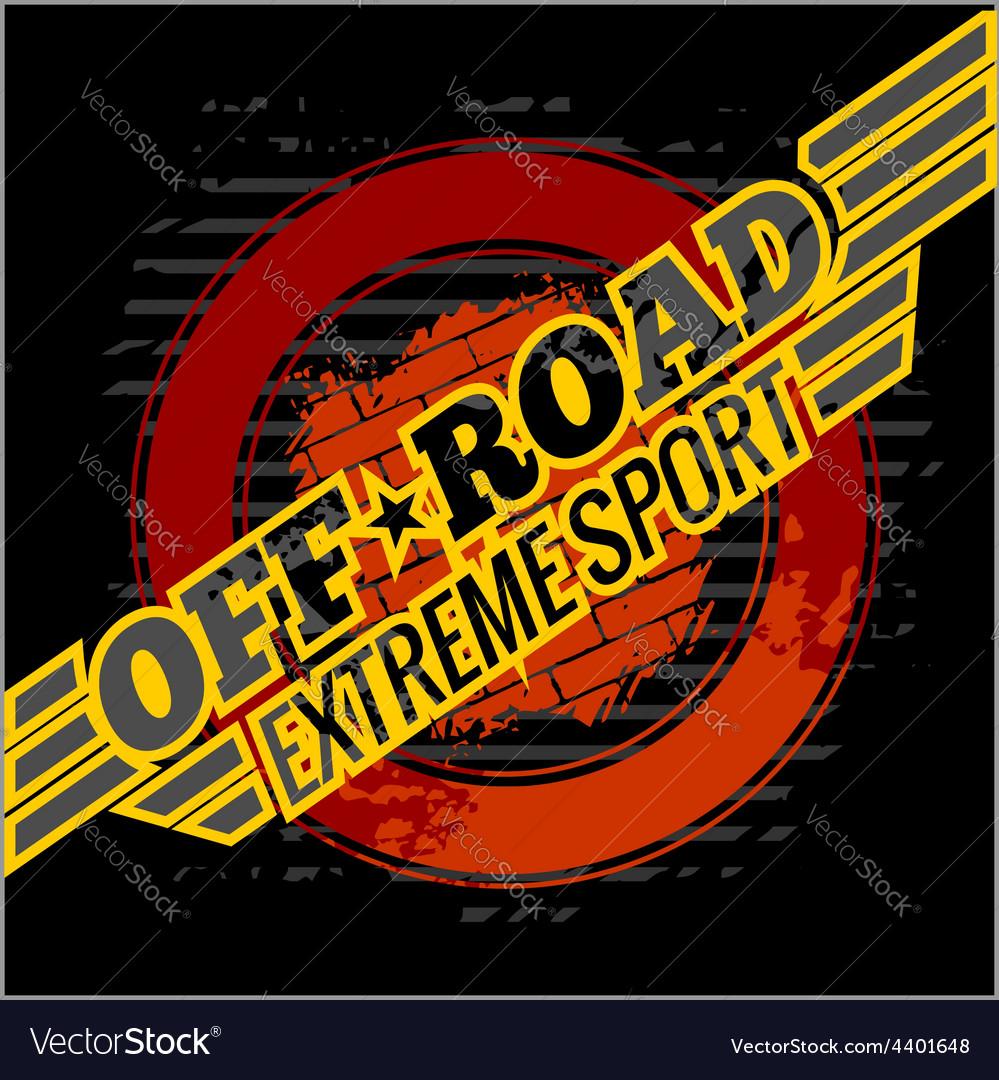Emblem - off-road cars vector | Price: 3 Credit (USD $3)